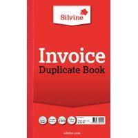 SILVINE DUPLICATE BOOK 8.3X5IN PK6