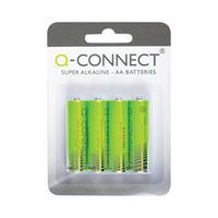Q-CONNECT BATTERY AA PACK 4