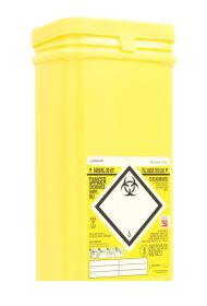 Sharpsafe 7.5 Litre Quiver Container - Yellow [Pack of 20]