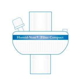 HME Filter Compact Straight Sterile Tethered Cap [Box of 25]
