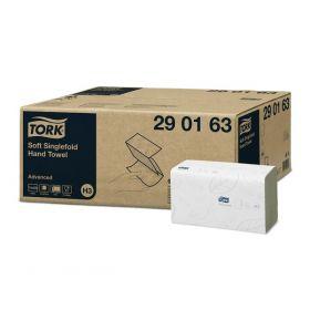 Tork Soft Singlefold Hand Towel [Pack of 250]