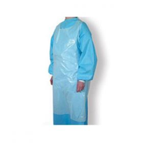 Disposable Aprons Flat Pack - Blue [Pack of 100]