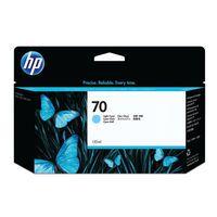 HP 70 INK CARTRIDGE LIGHT CYAN