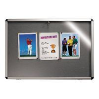 NOBO VISUAL INSERT NOTICEBOARD