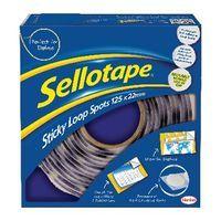 SELLOTAPE LOOP SPOTS PACK OF 125