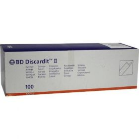 BD Discardit 309110 10ml Syringe Eccentric Luer Slip [Pack of 100]