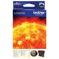 BROTHER LC980 INK CART BLK LC980BK