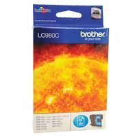 BROTHER LC980 INK CART CYAN LC980C