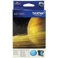 BROTHER LC1100 INK CRT CYAN LC1100C