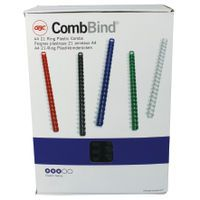 GBC BNDING CMB A4 22MM BLK 4028602