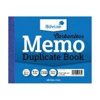 SILVINE DUPLICATE BOOK 4.1X5 INCHES