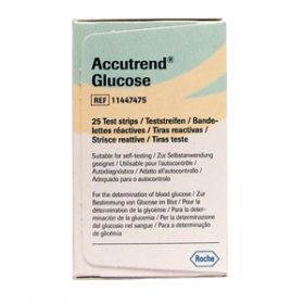 Accutrend Glucose II Test Strips [Pack of 25]