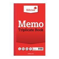 SILVINE TRIP BOOK RED 213X125MM PK 6
