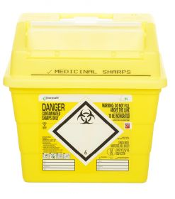 Sharpsafe 9 Litre Container - Yellow [Pack of 20]