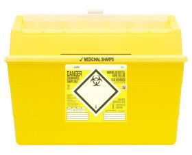 Sharpsafe 24 Litre Container - Yellow [Pack of 15]