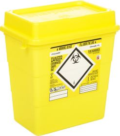 Clinisafe 11.5 Litre Container - Yellow [Pack of 20]