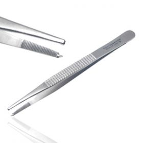 Instramed Sterile Bonney Dissecting Forceps Toothed 18cm
