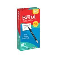 BEROL COLOURFINE FIBRETIP ASSORTED
