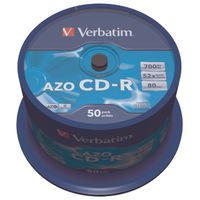 VERBATIM CD-R 80M/700MB CRYSL SPND50