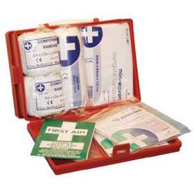 RH2 First Aid Kit In Orange Box With Bracket
