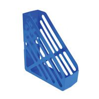 Q-CONNECT MAGAZINE RACK BLUE