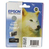 EPSON T0967 LIGHT BLACK INK