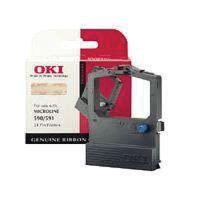 OKI ML520/521 BLACK FABRIC RIBBON