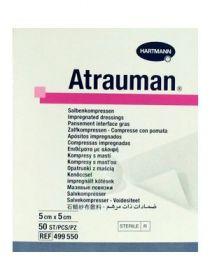 Atrauman 499550 Tulle Dressing 5cm x 5cm [Pack of 50]