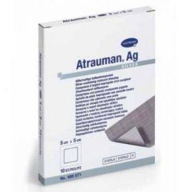 Atrauman Ag 499571 Silver Impregnated Primary Dressing 5cm x 5cm [Pack of 10]