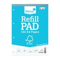 A4 REFILL PAD 160 PAGES