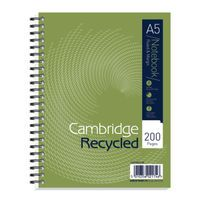 CAMBRIDGE RECYCLED NTBK A5PLUS 200P