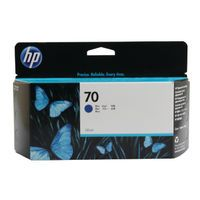 HP 70 INK CARTRIDGE BLUE 130ML