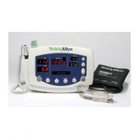 Welch Allyn 53NT0-E4 Vital Signs Monitor 300 Series with Blood Pressure Monitor & SPo2 (Nellcor) & Temperature