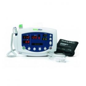 Welch Allyn 53ST0-E4 Vital Signs Monitor 300 Series with Blood Pressure Monitor & SPo2 (Masimo) & Temperature
