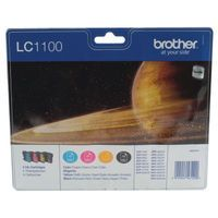 BROTHER INK CART LC1100 KCMY