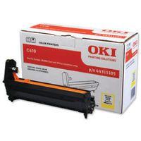 OKI C610 IMAGE DRUM 20K YELLOW