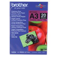BROTHER A3 PHOTO GLOSSY PAPER 20 SHT