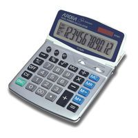 AURORA DT401 DESKTOP CALCULATOR EURO