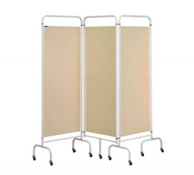 Three Panel Screen - Beige