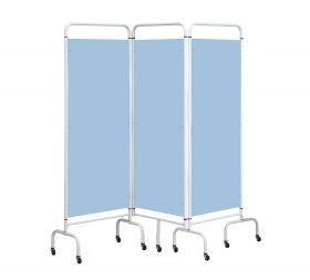 Three Panel Screen - Sky Blue