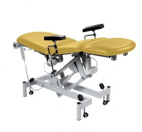 Fusion Phlebotomy Chair - Electric Back & Foot Sections & Tilting Seat-Primrose