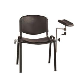 Phlebotomy/Treatment Chair - Black