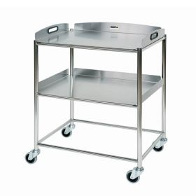 Surgical Trolley – 2 Stainless Steel Trays Sun-ST6S2