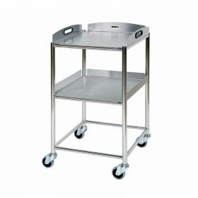 Surgical Trolley – 2 Stainless Steel Trays