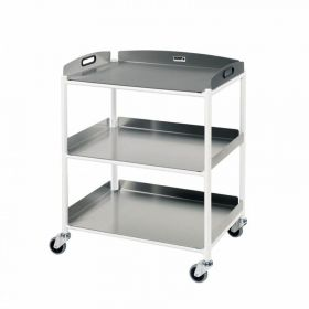 Dressing Trolley – 3 Stainless Steel Trays Sun-DT6S3