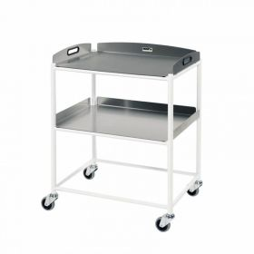 Dressing Trolley – 2 Stainless Steel Trays Sun-DT6S2