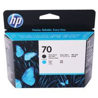 HP 70 PRINTHEAD TWIN BLACK CYAN