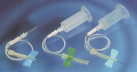 """BD 368655 Safety-Lok Blood Collection Set 23G Needle 7"""" Tubing with Pre-attached Holder [Pack of 25]"""