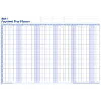 MARK-IT PERPETUAL YR PLANNER 600X900