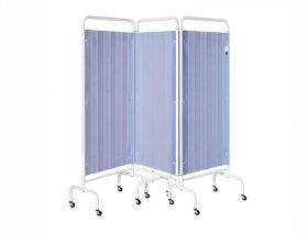 Three Section Screen/Disposable Curtain - Summer Blue